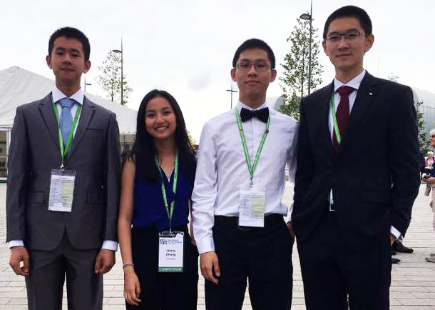CBE students bring home medals from the International Biology Olympiad