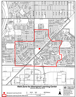 Walk Zone Map